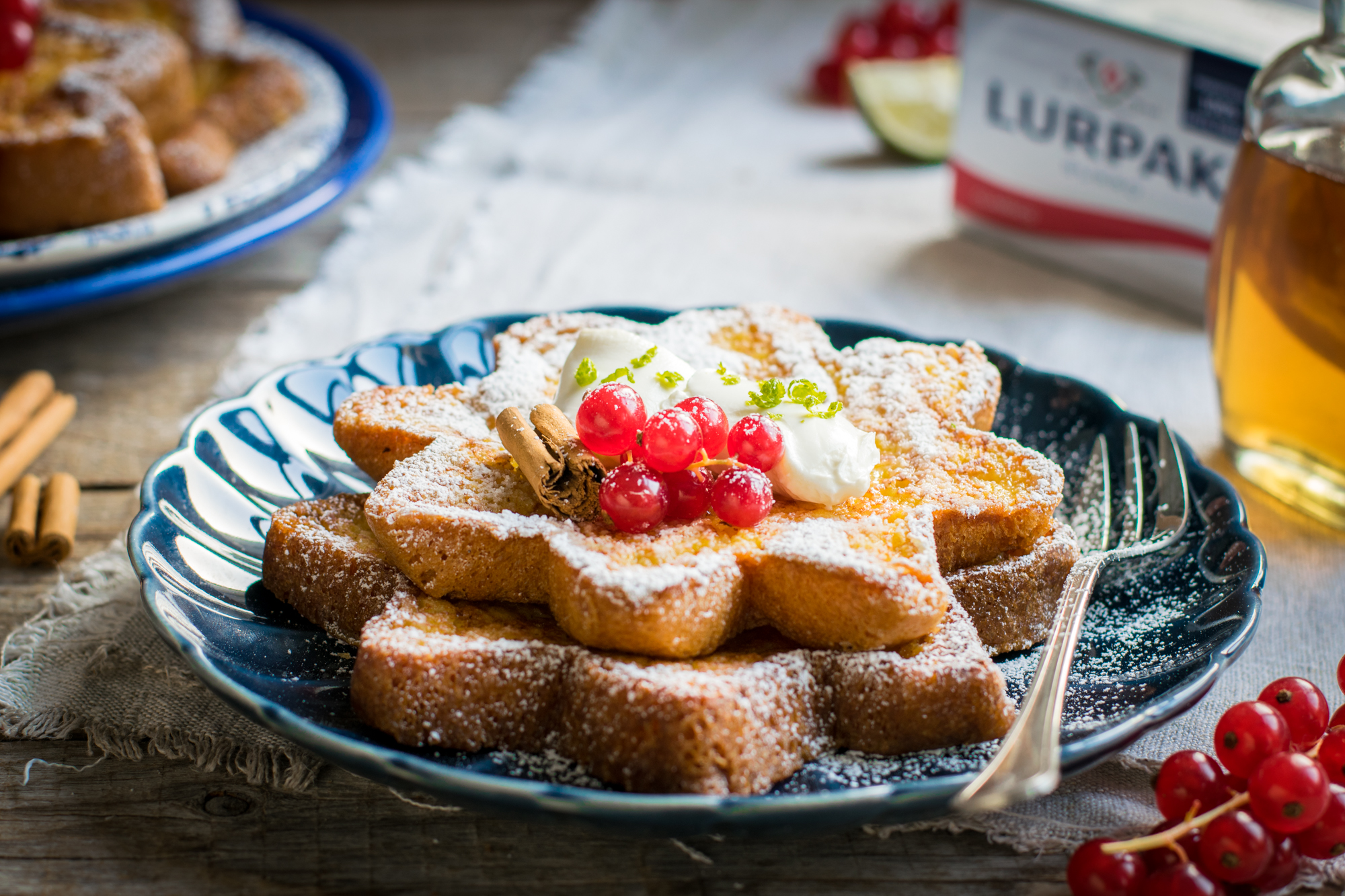 french toast al pandoro