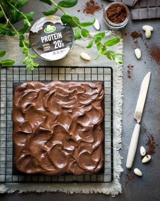 brownies proteico